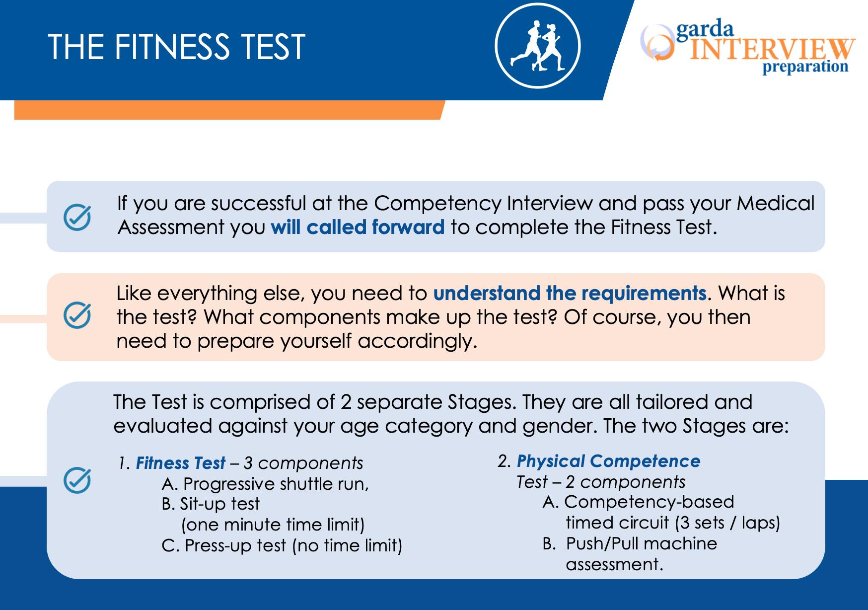 Garda Recruitment 2021 - The Fitness Test
